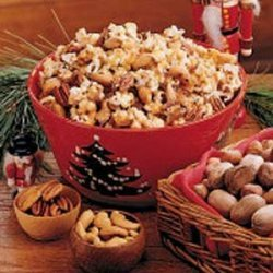 Popcorn Nut Crunch recipe
