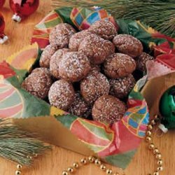 Chocolate Truffle Cookies recipe