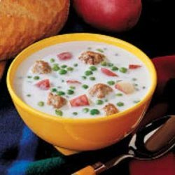 Swedish Meatball Soup recipe