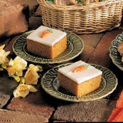 Frosted Carrot Bars recipe