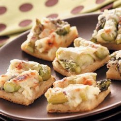 Asparagus Snack Squares recipe