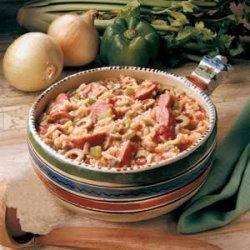Spanish Sausage Supper recipe