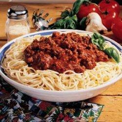 Spaghetti Sauce Mix recipe