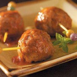 Pineapple Appetizer Meatballs recipe