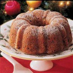 Winning Cranberry Bundt Cake recipe