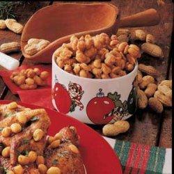 Sugared Peanut Clusters recipe