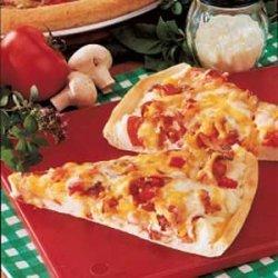 Pleasing Potato Pizza recipe