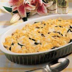 Cheesy Asparagus Casserole recipe
