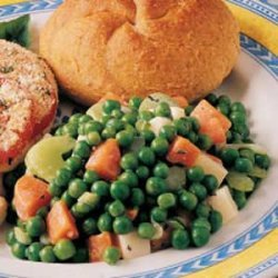 Colorful Pea Salad recipe