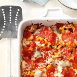Pizza Pasta Casserole recipe