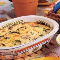 Colorful Frittata recipe