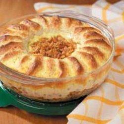 Crowned Beef Bake recipe