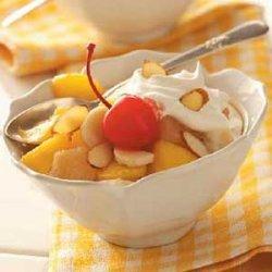Fruit Compote Dessert recipe