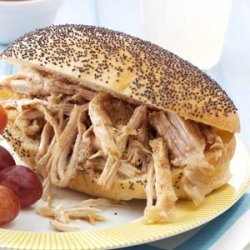 Fiesta Pork Sandwiches recipe