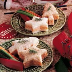 Tree and Star Crab Sandwiches recipe