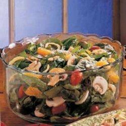Sweet Spinach Salad recipe