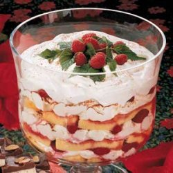 Raspberry Cocoa Trifle recipe