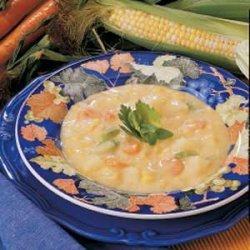 Microwave Corn Chowder recipe