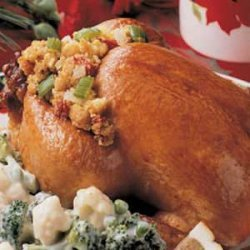 Stuffed Cornish Game Hens recipe