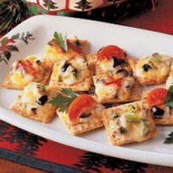 Cheesy Olive Snacks recipe