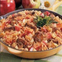 Bavarian Bratwurst Supper recipe