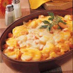 Scalloped Potatoes and Carrots recipe