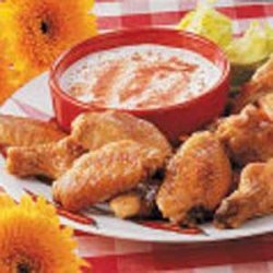 Spicy Hot Wings recipe