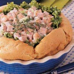 Ham Salad Puff recipe
