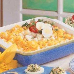 Potato Egg Supper recipe