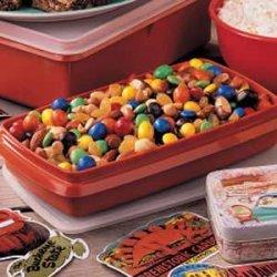 M&M Snack Mix recipe