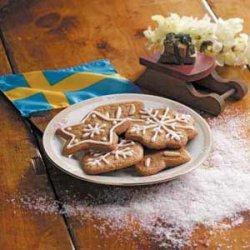 Swedish Spice Cutouts recipe