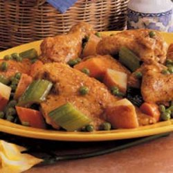 Skillet Chicken Supper recipe