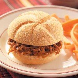 Shredded BBQ Beef Sandwiches recipe