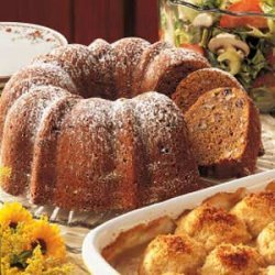 Chocolate Sweet Potato Cake recipe