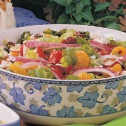 Colorful Mixed Salad recipe