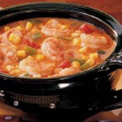 Cajun Corn and Shrimp recipe