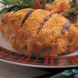Grilled Chicken Cordon Bleu recipe