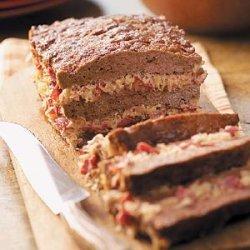 Layered Rueben Loaf recipe