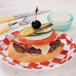 Dagwood Burgers recipe