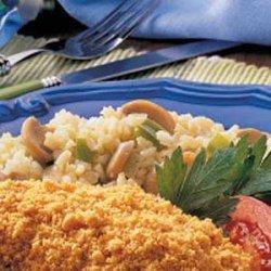 Microwave Rice Pilaf recipe
