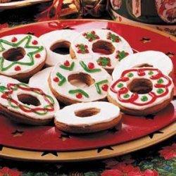 Gingerbread Rings recipe