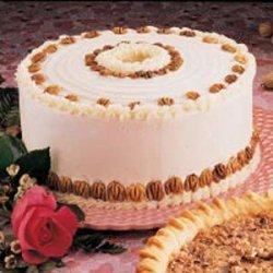 Chiffon Nut Cake recipe