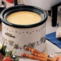 Cheddar Fondue recipe