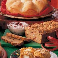 Cranberry Nut Sweet Potato Bread recipe