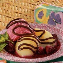 Raspberry Pear Delight recipe