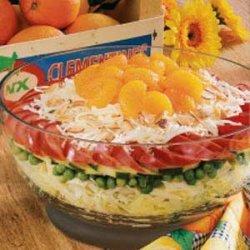 Sunny Layered Salad recipe