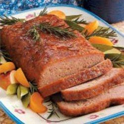 Ham Loaf with Mustard Sauce recipe