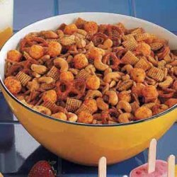 Cheese Ball Snack Mix recipe
