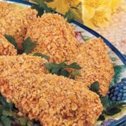 Crunchy Baked Chicken recipe