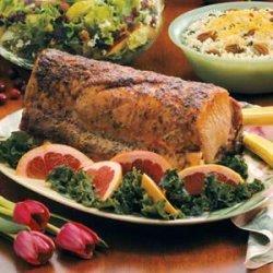Tangy Pork Loin Roast recipe